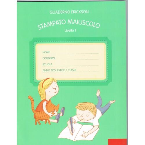 Livello 1-STAMPATO-MAIUSCOLO-Riga-1-cm-Erickson