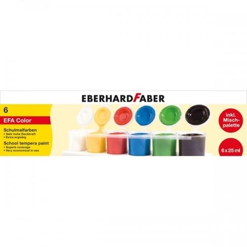 Tempera-Pronta-6x25ml-Eberhard-Faber